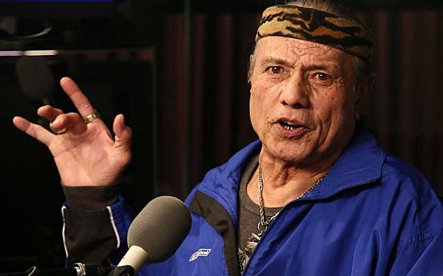 Jimmy Snuka, 2013 interview. (Getty Images)
