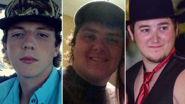 Chris Ruckman, Spencer Hall, Starett Burke (L-R). (CNN: Facebook)