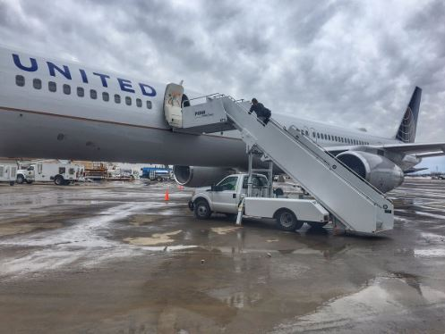 United Airlines Twitter Page Photo.