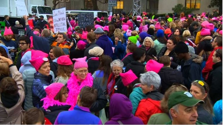 Women's March on Washington. CNN
