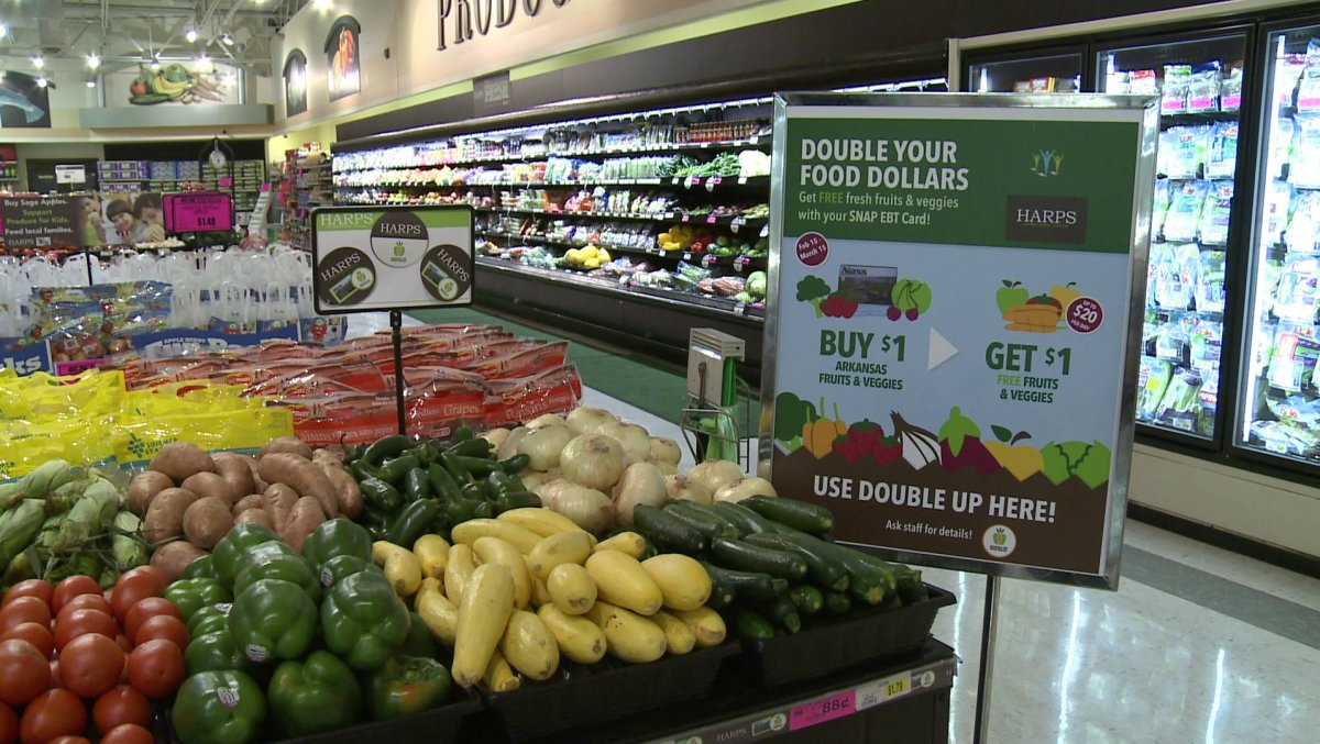 New SNAP Program Doubles Up On Produce | Fort Smith