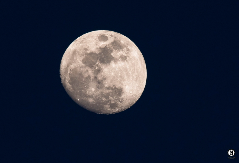 Melissa Jones took this photo in NW Arkansas earlier this week as the Moon was approaching Full.