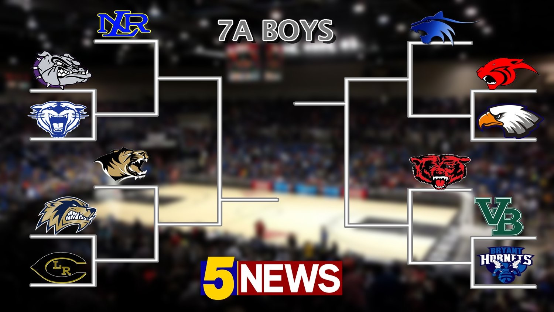 7A boys first round