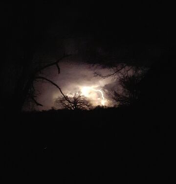 Storm in Kibler. Courtesy: 5NEWS Viewers Mary & Heath Beckham