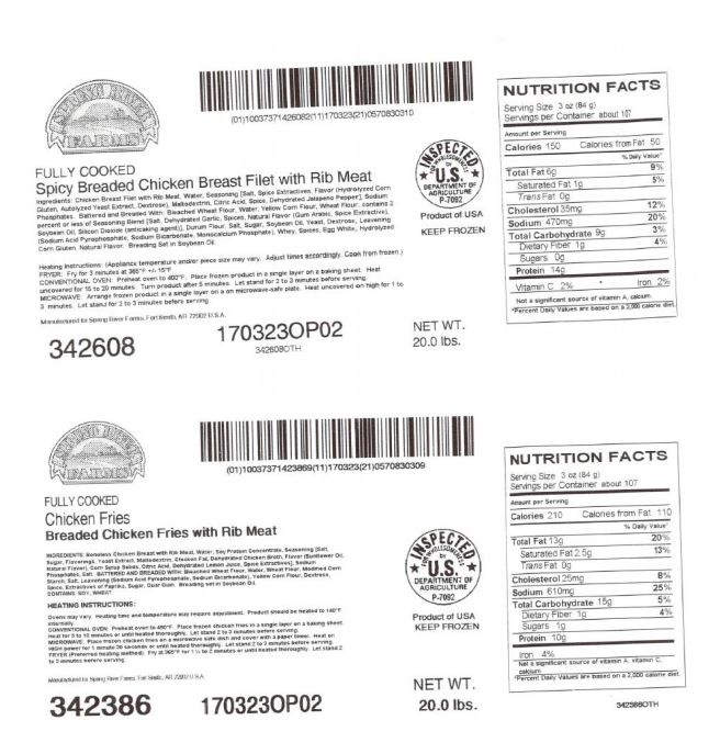 Ok Foods Recalls 900000 Pounds Of Chicken Products Possibly