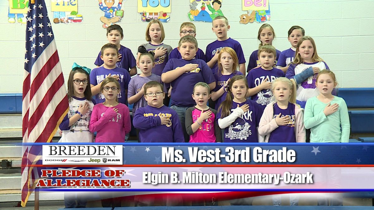 Elgin B Milton Elementary Ozark Ms Vest 3rd Grade