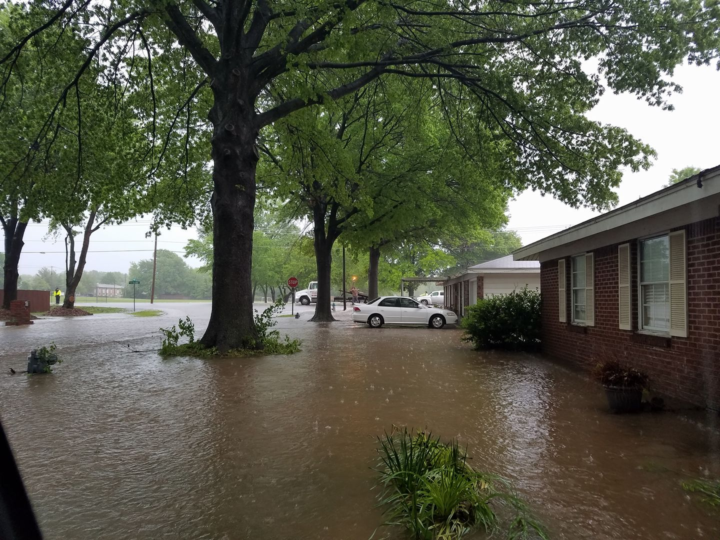 Rain Continues As Officials Monitor Potential Flooding