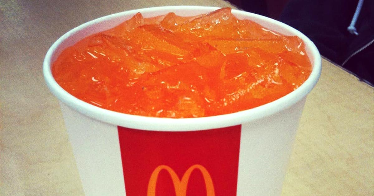 McDonald's Is Getting Rid of Hi-C Orange