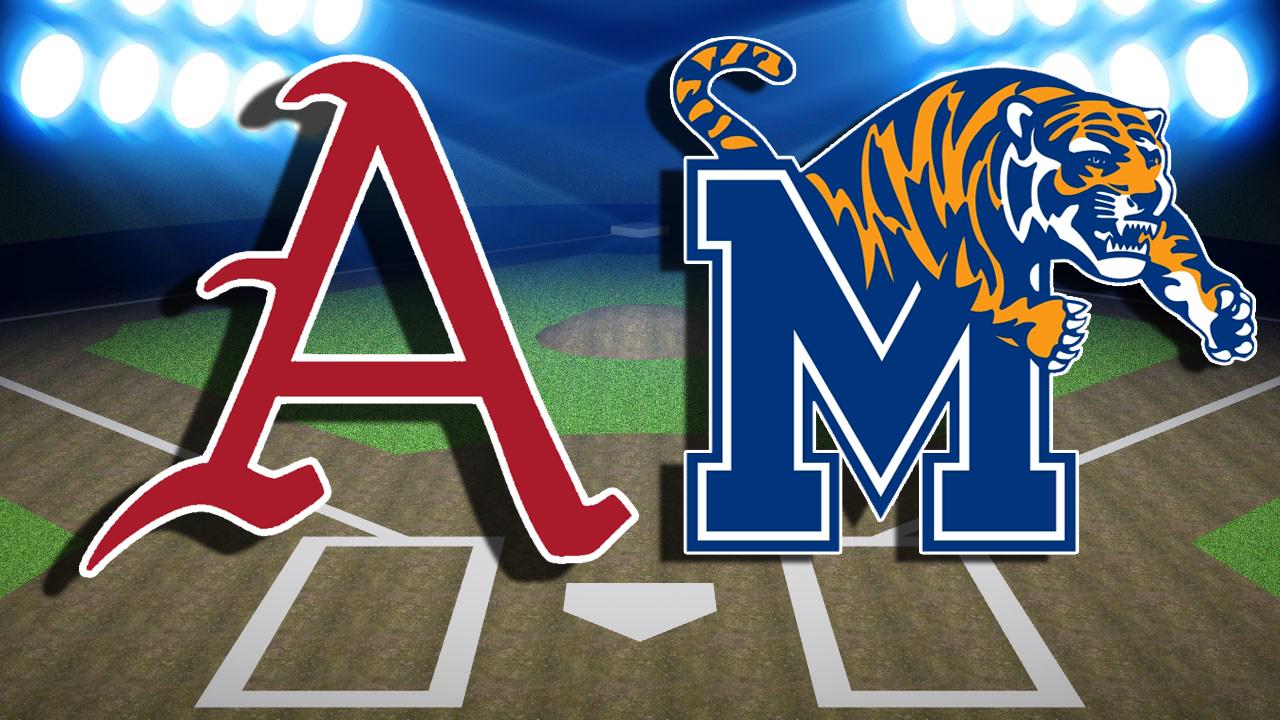 Murphy Dazzles As Arkansas Completes Sweep Of Memphis