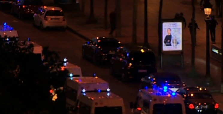 1 officer shot, killed, another injured in Paris, reports say