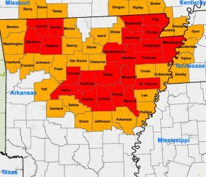Usda 23 Arkansas Counties Declared Disasters Due To Severe Flooding