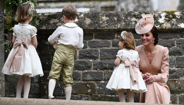 Prince George, Princess Charlotte on best behavior at Pippa Middleton wedding