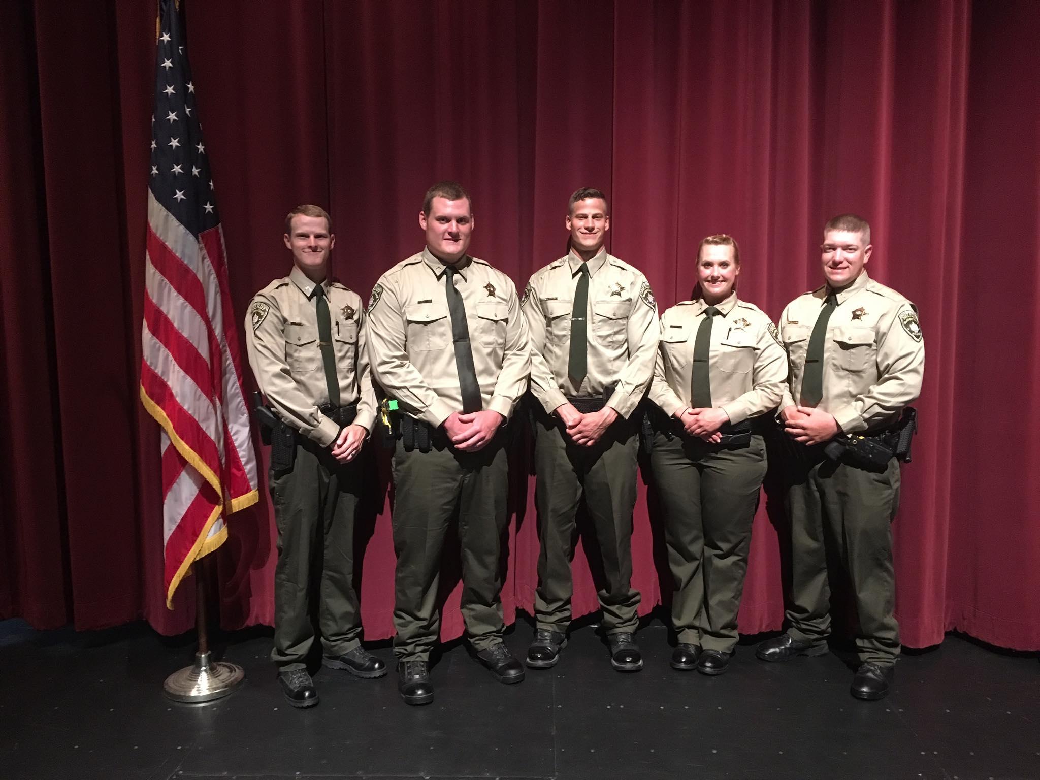 DFC Byron Steffen Flickinger, DFC Mitch Smothers, DFC Justin Bocchino, DFC Leigh Anne Brewer, Corporal Chris Smith