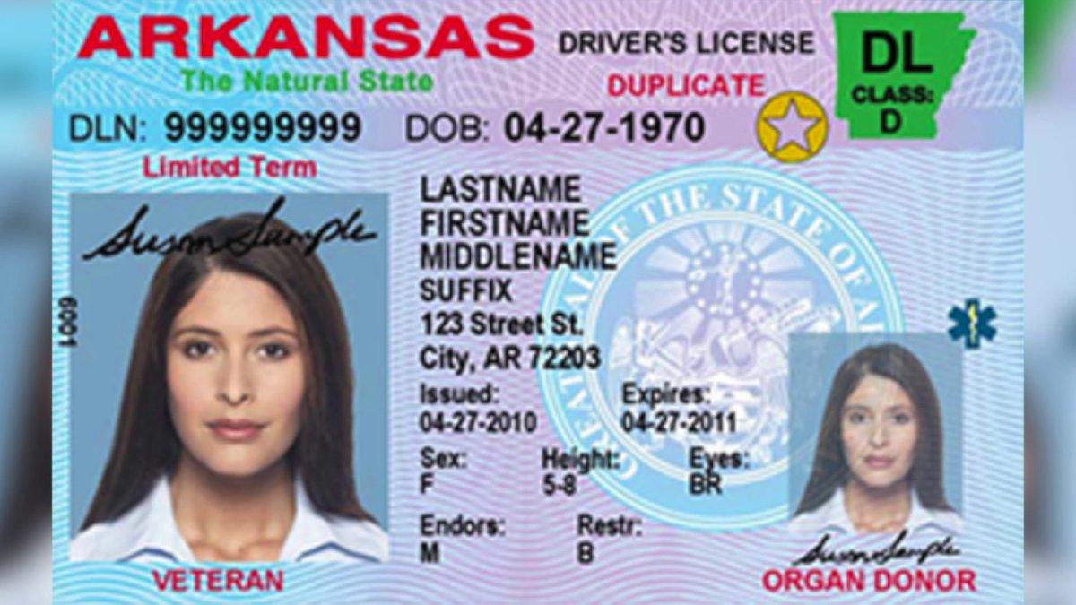 Arkansas State Police Explain Enhanced Security IDs