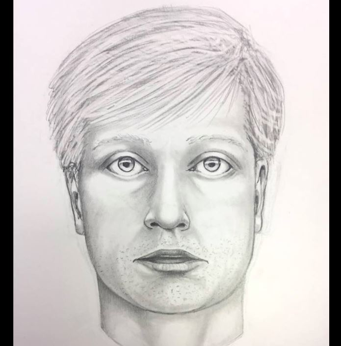 Composite sketch. West Goshen Police Department