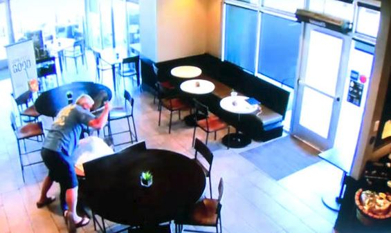 Starbucks customer thwarts armed robber wearing 'Transformers' mask
