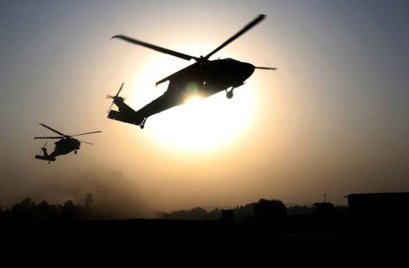 USA  military helicopter crashes off coast of Yemen