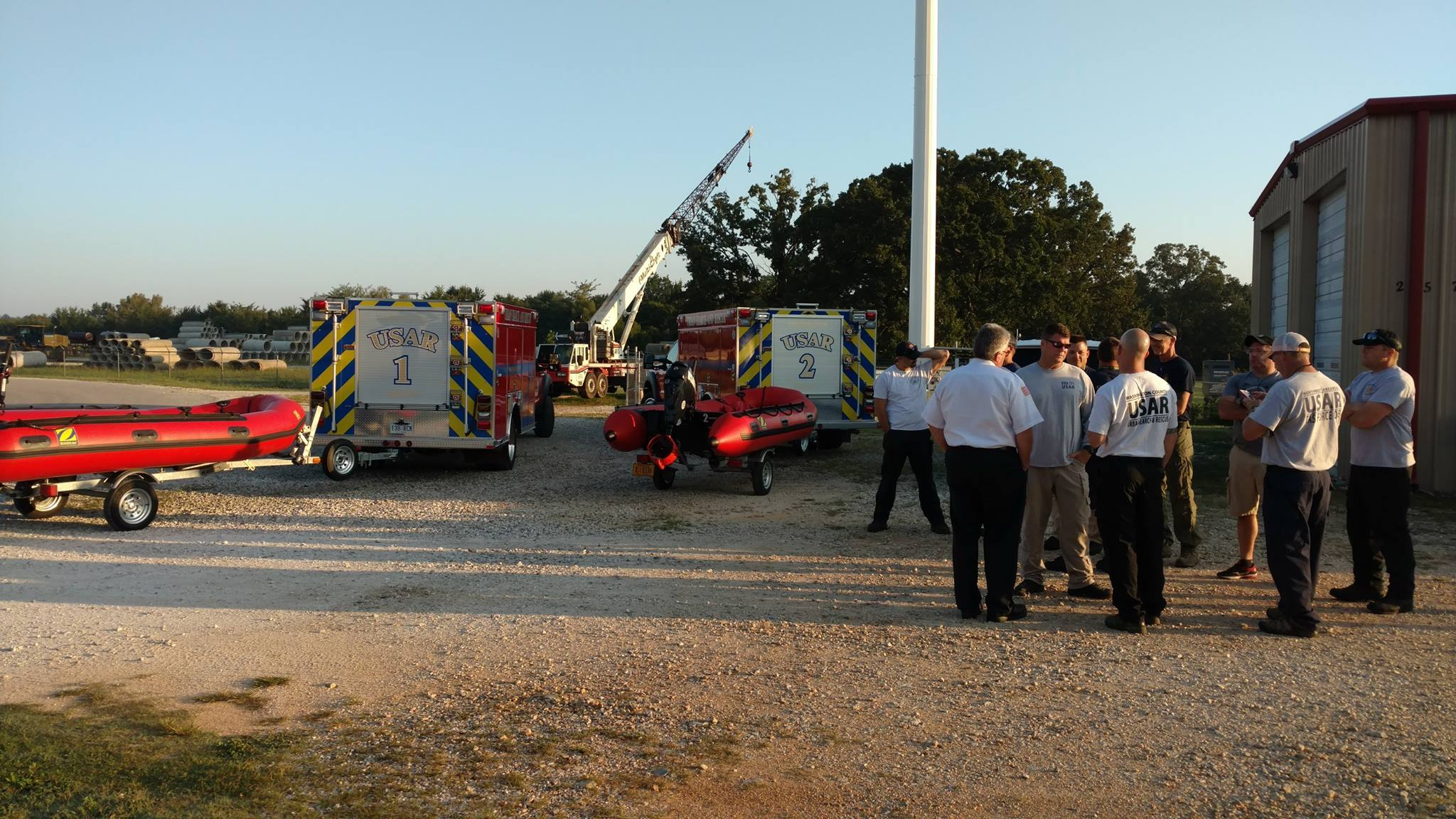 Task force of area firefighters deploying to Texas