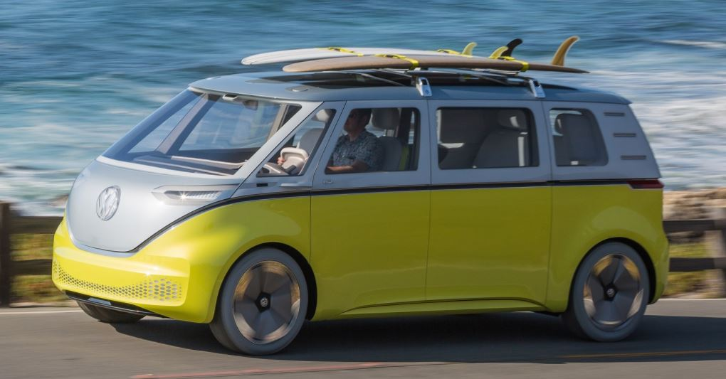 Far Out Vw Plans An Electric Hippie Bus Fort Smith