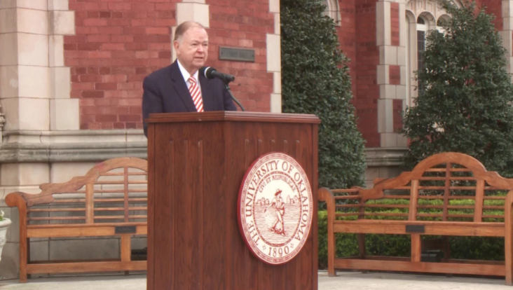 OU's President Announces Retirement At End Of School Year