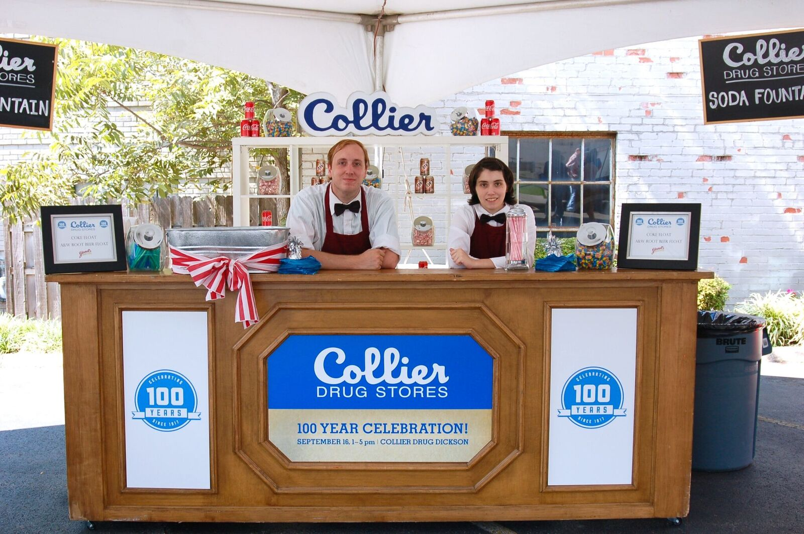 Collier Drug Store 100 Anniversary