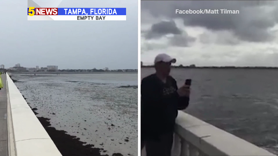 Storm hits west coast of Florida
