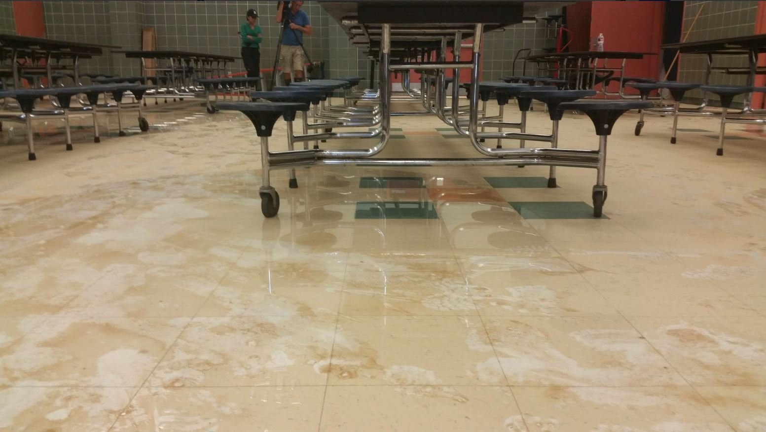 Many of the schools in the Houston Independent School District received major damage due to Harvey.