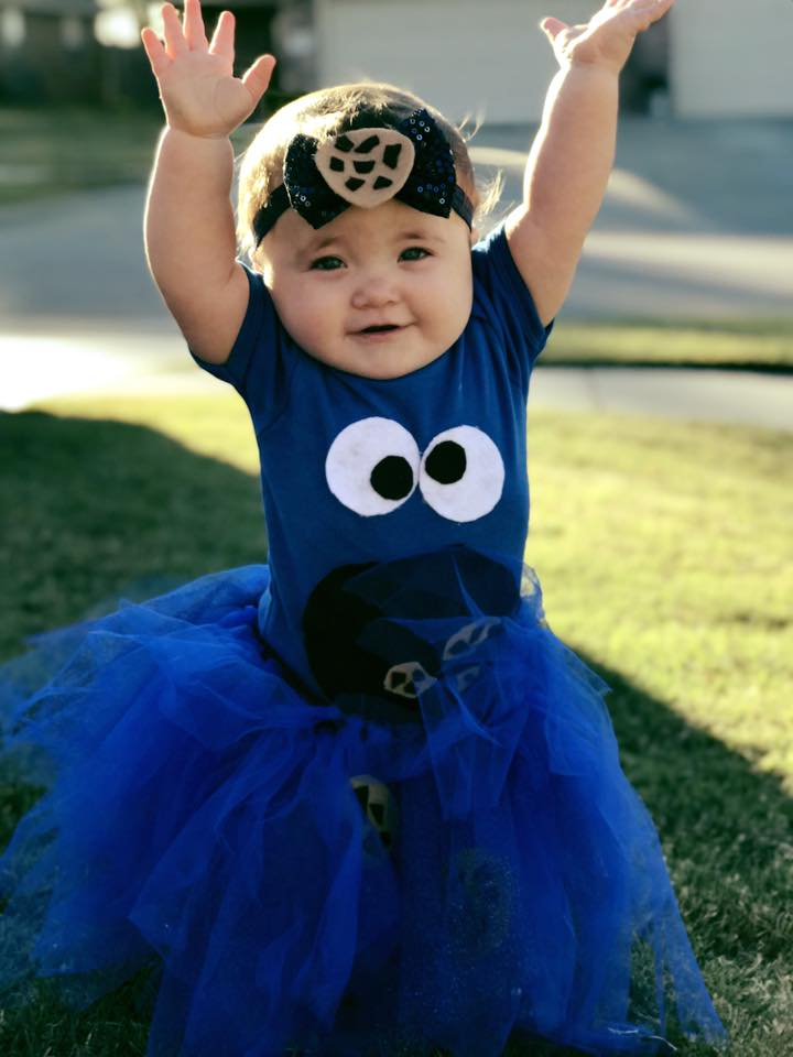 Turner Rae as the Cookie Monster. Photo by Heather Wade.