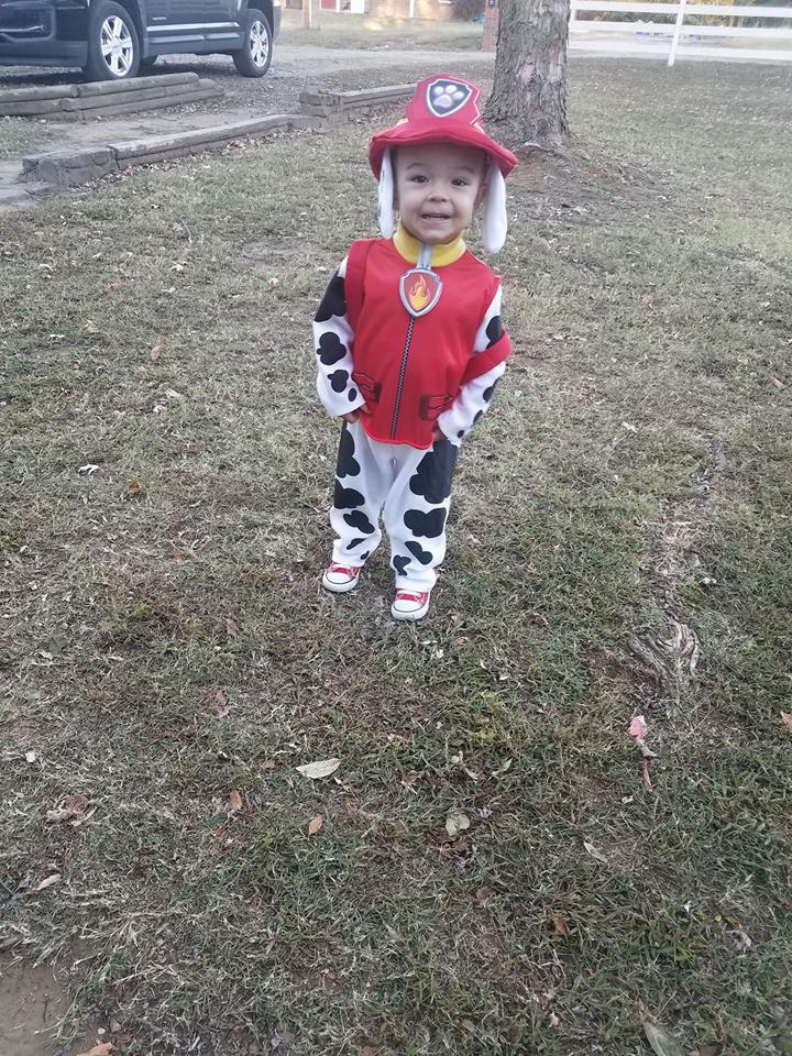 Ryan as Marshall from Paw Patrol. Photo by Samantha Fuerst.