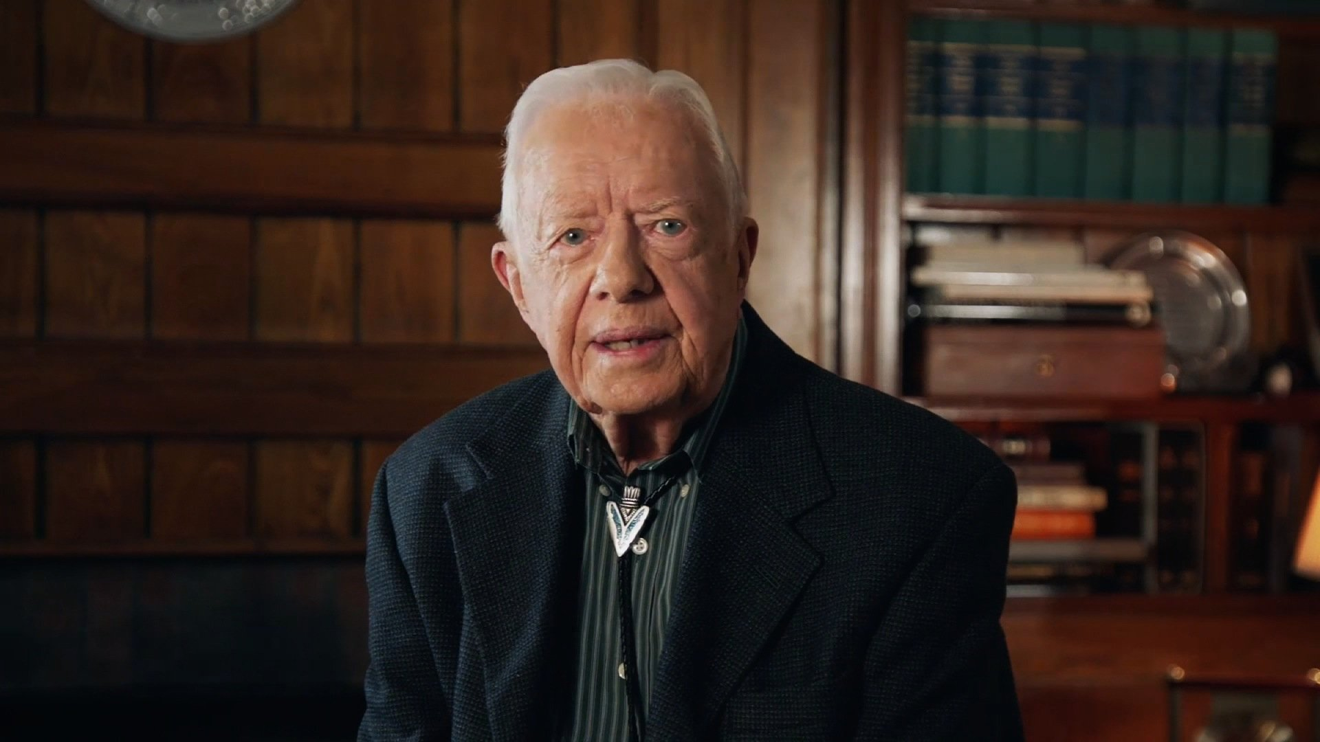 All five living former US presidents-- former Presidents Jimmy Carter, Bill Clinton, George H.W. Bush, George Bush and Barack Obama -- appeared in a video and asked Americans to respond to the devastation wrought by the hurricane.