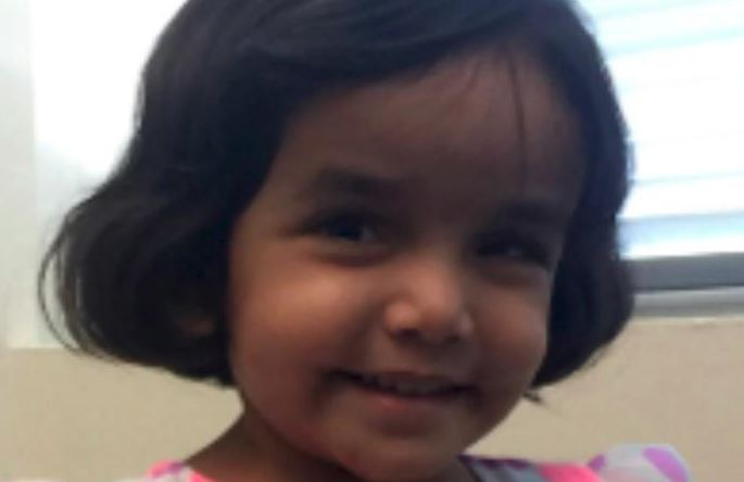 Child's body found near missing 3-year-old Texas girl's home