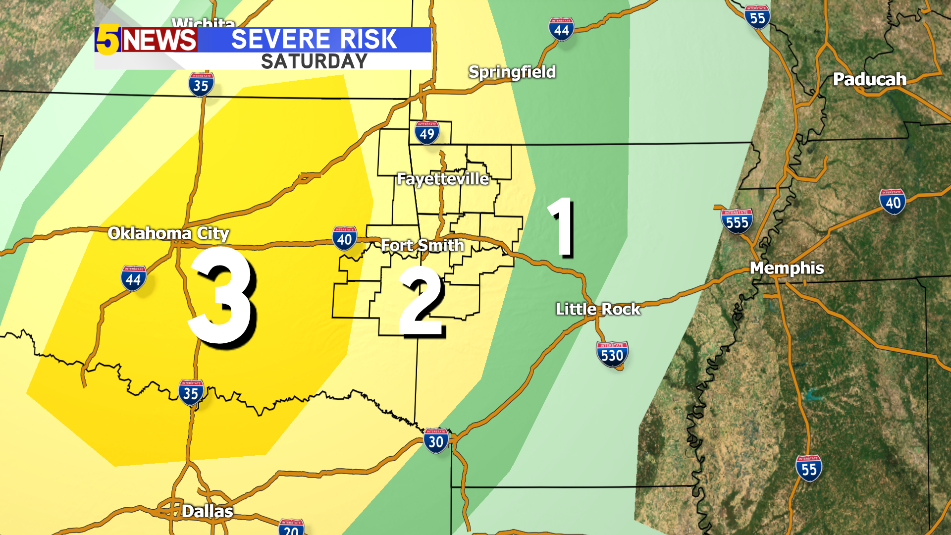 WEATHER BLOG: Severe weather possible this weekend