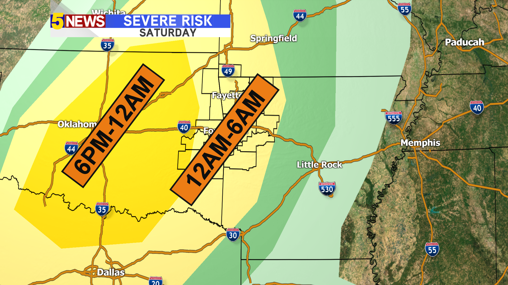 Severe Weather Likely Tonight, Including Damaging Winds & Brief Spin-Up Tornadoes