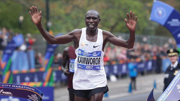Resultado de imagen de geoffrey kamworor new york marathon 2017