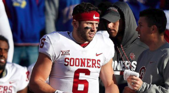 Baker Mayfield will play but won't start against West Virginia
