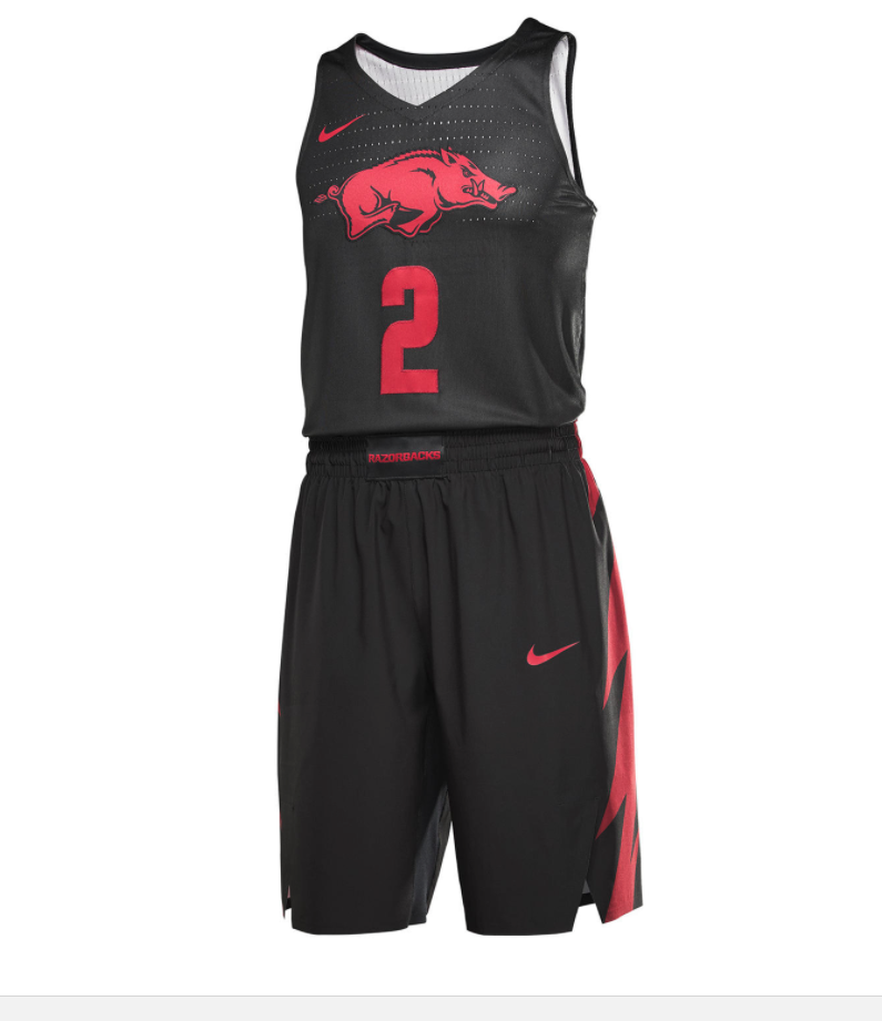 c2d977ab08de LOOK  Nike Unveils Hogs  Uniforms For PK80 Invitational