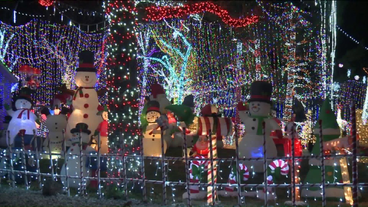 local family lets christmas spirit shine with massive light display fort smithfayetteville news 5newsonline kfsm 5news