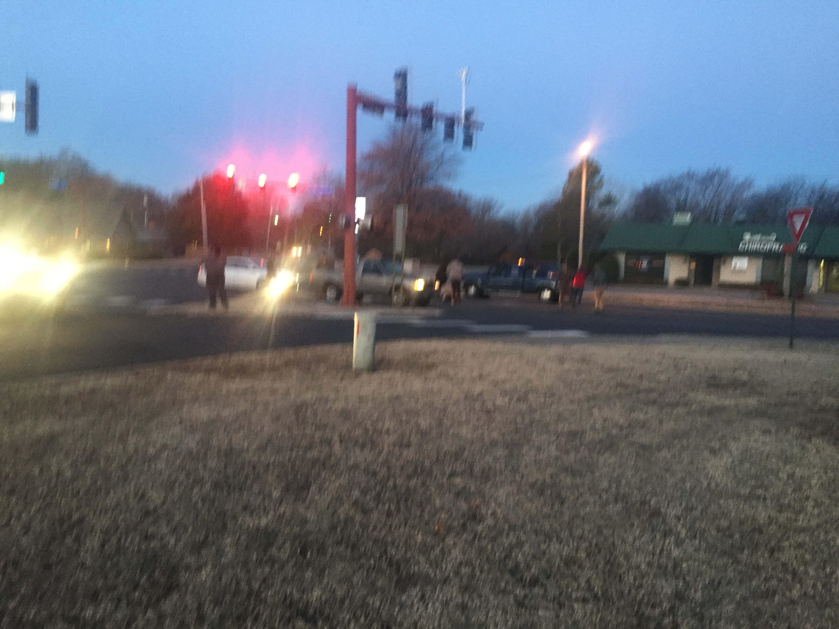 Pedestrian versus vehicle accident on Gary St. and Old Greenwood in Fort Smith.