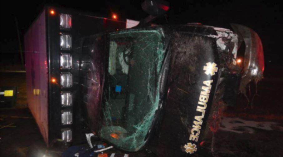 One dead after ambulance crash on United States 31