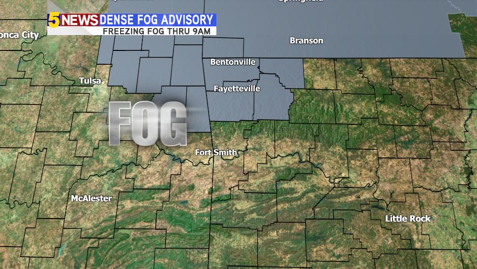 Dense fog advisory issued through Thursday morning