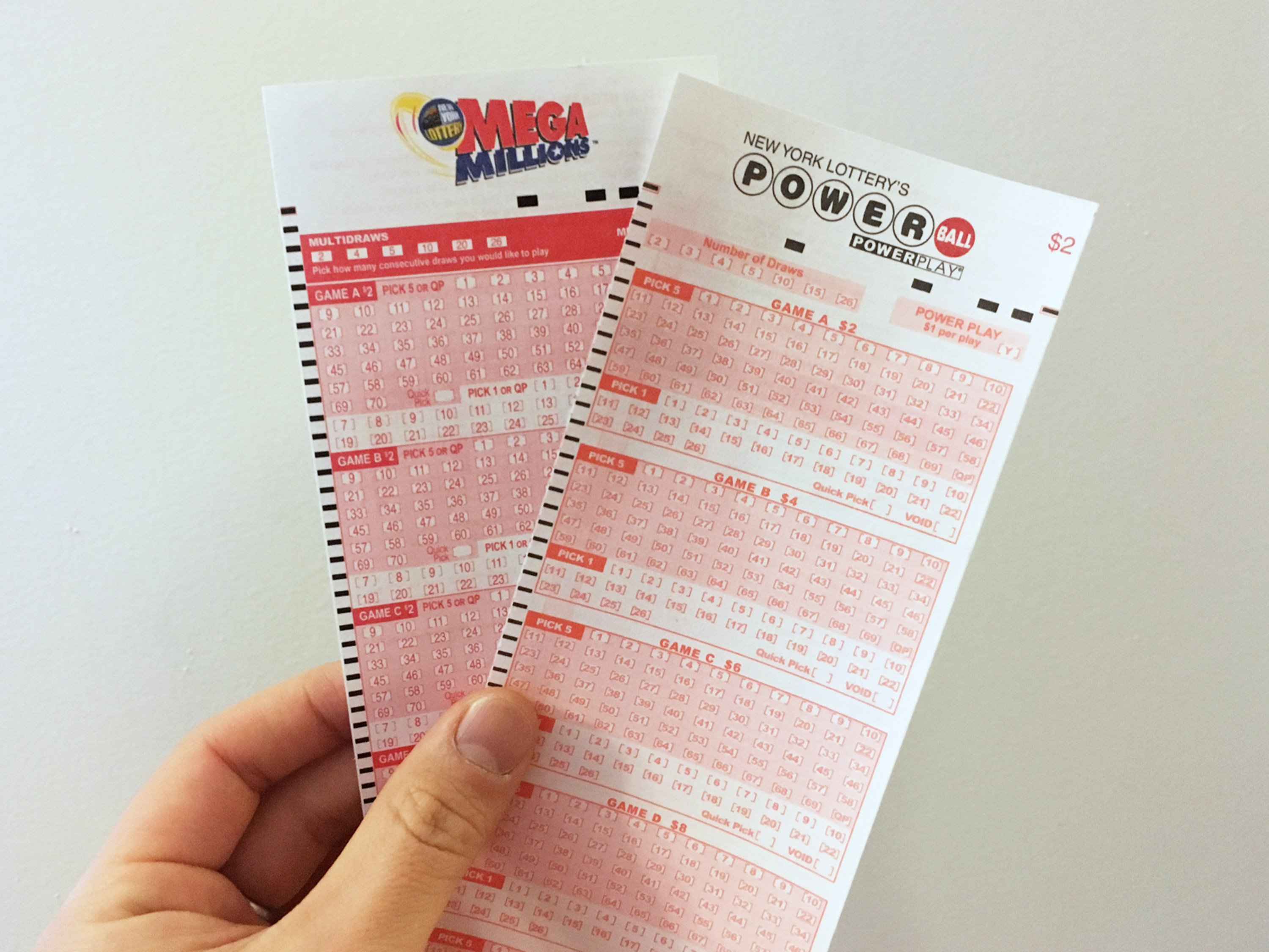 Big weekend for lottery jackpots