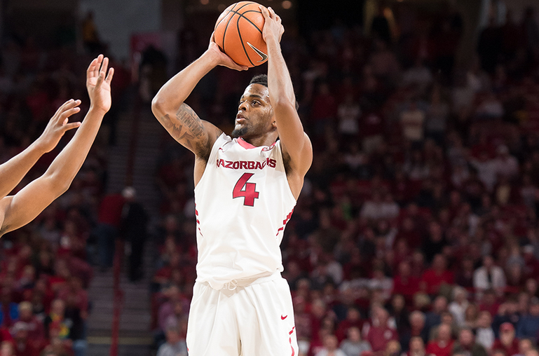 Daryl Macon Named SEC Player Of The Week | Fort Smith/Fayetteville News | 5newsonline KFSM 5NEWS
