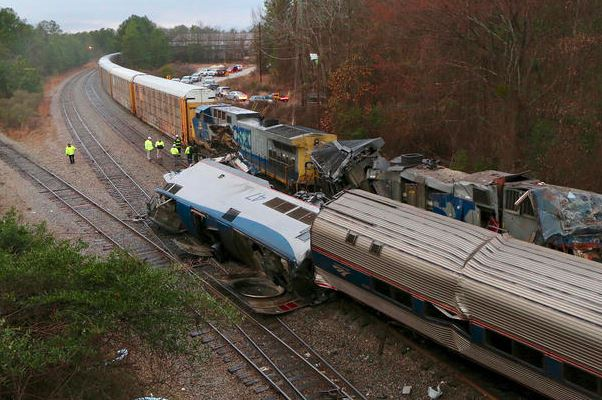 CSX Track-Safety Work May Have Contributed to Amtrak Crash