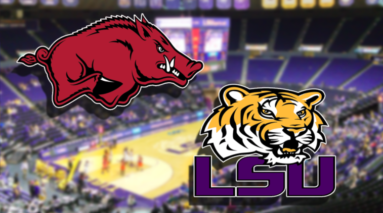 Waters leads LSU past Arkansas 94-86