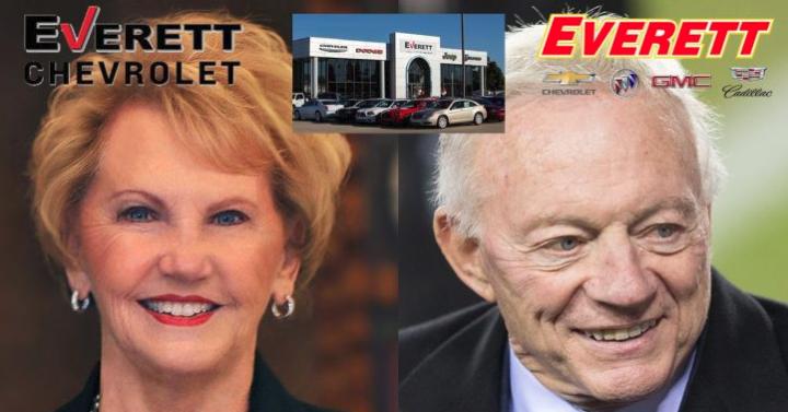 Johnelle Hunt, Jerry Jones Involved In Everett Automotive Acquisitions In Northwest Arkansas ...