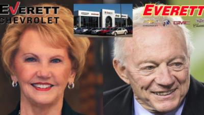 Everett Chevrolet Springdale Ar >> Johnelle Hunt Jerry Jones Involved In Everett Automotive