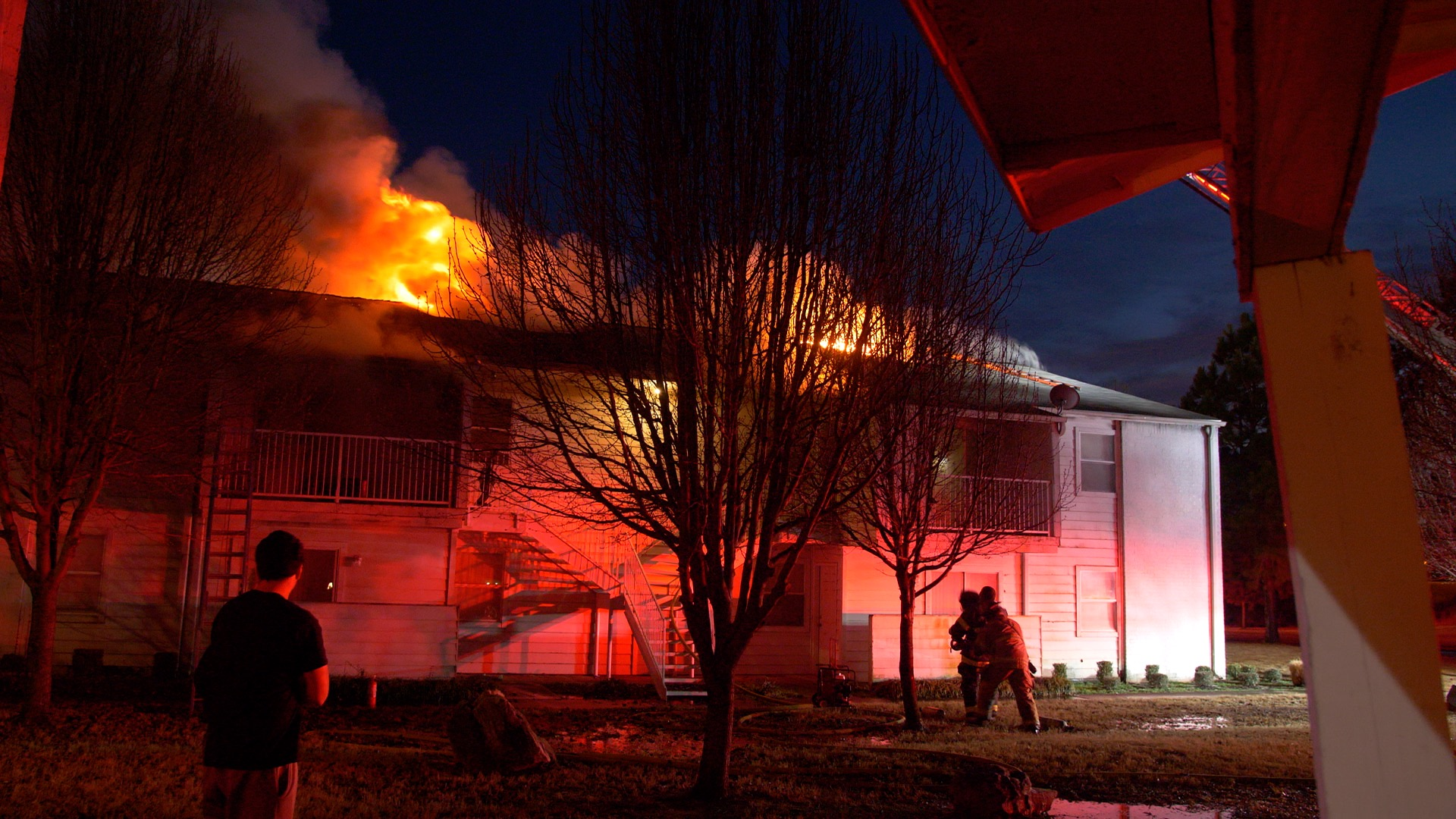 Fire In Fort Smith