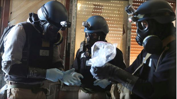 USA  concern about reports of chlorine gas use in Syria