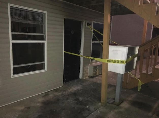 Exterior of apartment at Barry/Huntsville, Springdale