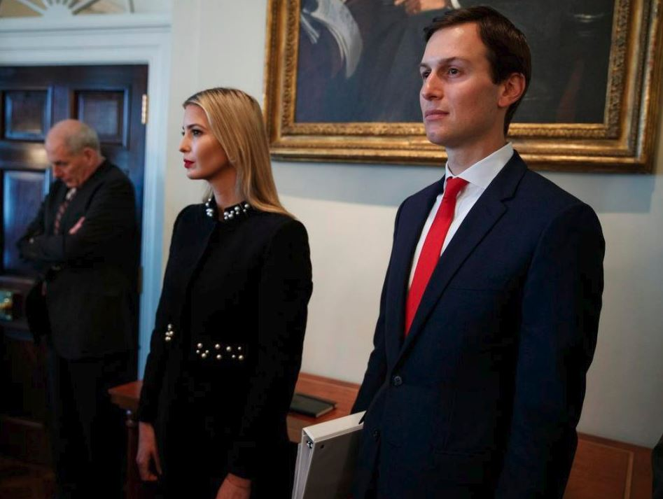 Jared Kushner stepped down as CEO of the Kushner Cos. last year before taking on his advisory role at the White House